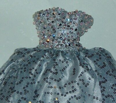 OOAK OUTFIT KITTY COLLIER Sparkly Periwinkle Gown WS Doll FASHION