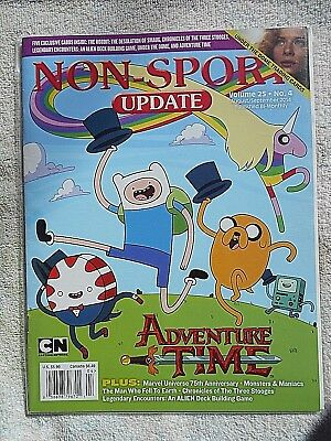 Aug/Sep 2014 Non-Sport Update Magazine  Vol. 25 #4 NM- (No Cards)