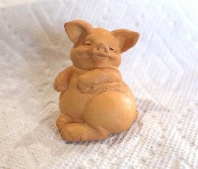 RUSS Smiling Pig - NEW!  Vintage Collectible