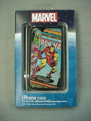 Disney Parks Marvel Comics IRON MAN Cell Phone Case for iPhone 4/4S NEW