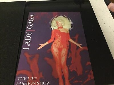 LADY GAGA-RARE  The Live Fashion Show   Paris Memo Media Limited Edition
