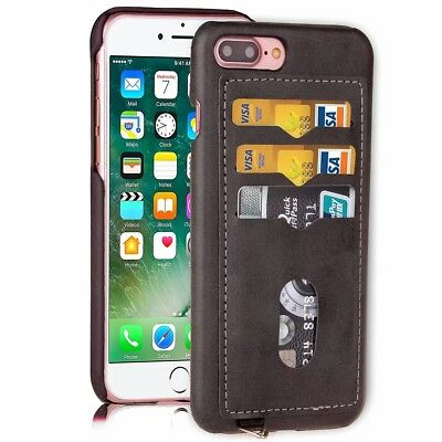 Luxury Leather Card Holder Flip Phone Case Cover For iPhone X/XR/XS MAX/7/8