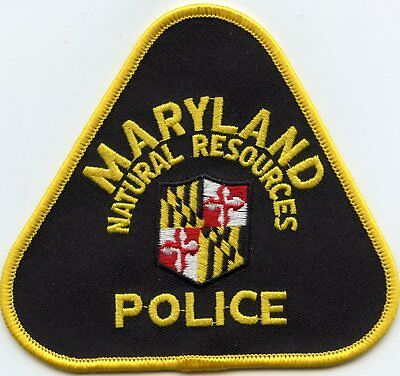 Maryland Md State Department Of Natural Resources Dnr Police Patch