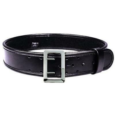 "Bianchi 7960 AccuMold Elite Sam Browne Duty Belt 34-36"" Plain Black 22218"