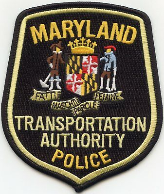 Maryland Md State Transportation Authority Police Patch