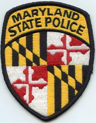 MARYLAND MD STATE POLICE Highway Patrol Trooper POLICE PATCH