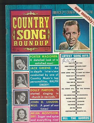 Country Song Roundup May 1968 Porter Wagoner Dolly Parton Melba Montgomery