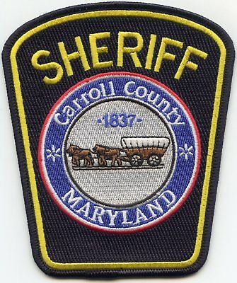 Carroll County Maryland Md Sheriff Police Patch