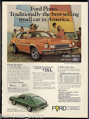 1977 FORD PINTO advertisement, Ford Pinto 2-door hatchback