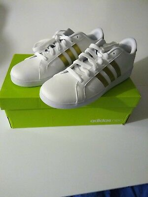 """adidas Baseline Shoes Kids' available sizes.preschool""""12"""" youth_6'5_7"""""""