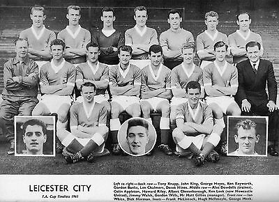 Leicester City Football Team Photo>1960-61 Season