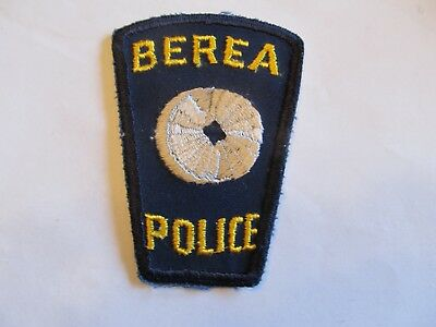Ohio Berea Police Patch Old Cheese Cloth