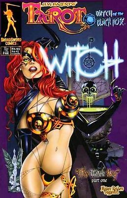 Tarot Witch of the Black Rose 44 a Broadsword Jim Balent sexy NM- FREE UK POST