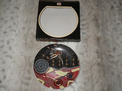 """Aboriginal   art plate 6""""  """"NEW AND BOXED"""""""