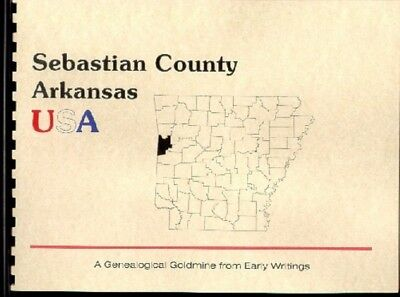 AR Sebastian County 1889 Goodspeed Arkansas history/bios Fort Smith Greenwood