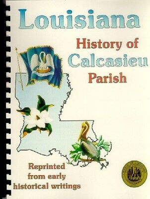 LA Calcasieu Parish Louisiana 1891 Perrin History/Biography Lake Charles Iowa