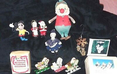 Vintage Christmas Items lot