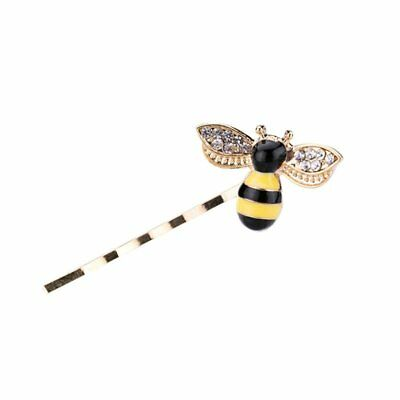 Lovely Enamel Honeybee Hairclip Womens Hair Accessories Party Wedding Gift Party