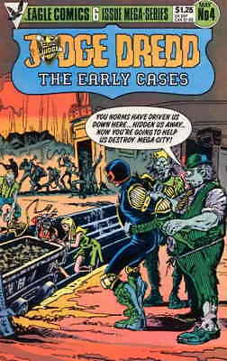 Judge Dredd the Early Cases #4 VF/NM; Eagle | save on shipping - details inside