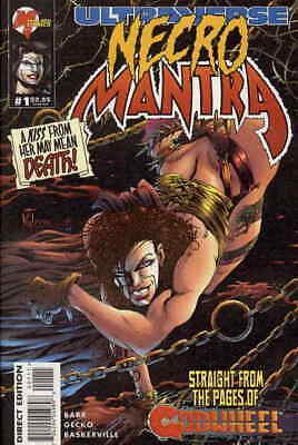 Lord Pumpkin/NecroMantra #1 VF/NM; Malibu   save on shipping - details inside