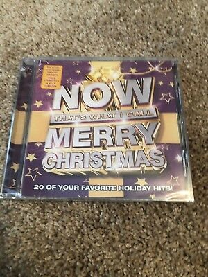 NOW Merry Christmas by Various Artists (CD, Oct-2017, Capitol) BRAND NEW SEALED