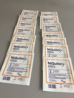 Niquitin Clear 14mg Patch Nicotine Step 2 -  14 Patches
