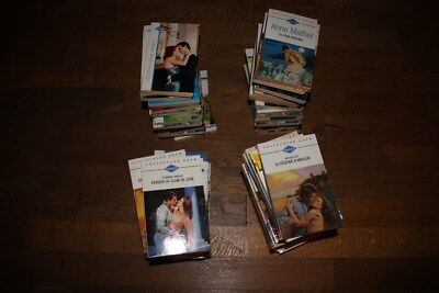 Tres Joli Lot De 70 Romans D'amour Harlequin: Collection Azur !!