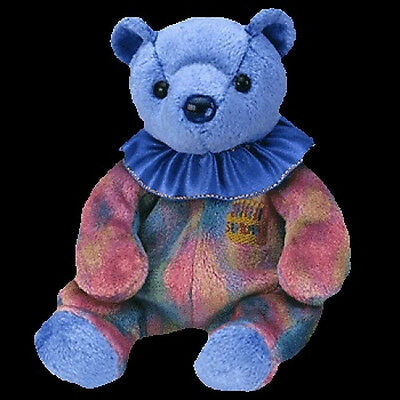 TY Beanie Baby Babies SEPTEMBER The BIRTHDAY Teddy Bear POOH Style MWMT Retired
