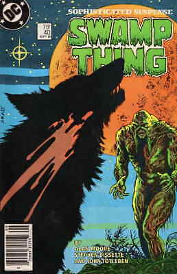 Saga of the Swamp Thing, The #40 VF/NM; DC | save on shipping - details inside