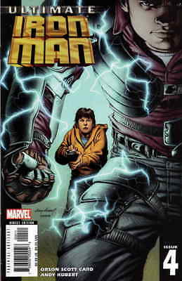 Ultimate Iron Man #4 VF/NM; Marvel | save on shipping - details inside