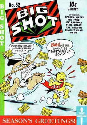 Big Shot #52 GD; Columbia | low grade comic - save on shipping - details inside