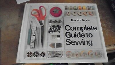 Complete Guide to Sewing by Readers Digest 1976  Hardcover  +