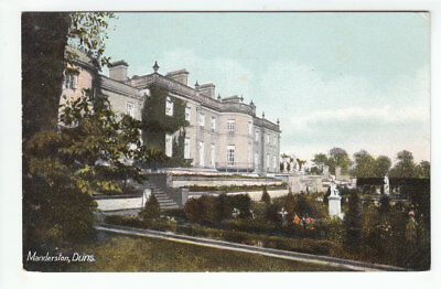 Manderston House Duns Berwickshire Pre 1918 Old Postcard Unposted
