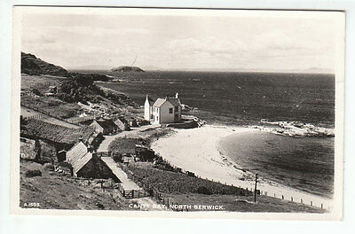 Canty Bay North Berwick East Lothian Real Photograph 21 Jul 1961 Paton Sandybrae