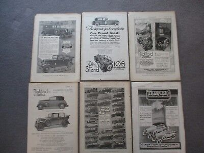 SALMSON & SONS**TICKFORD SUNSHINE COACHWORK 1920s/30s VINTAGE ORIGINAL ADVERTS