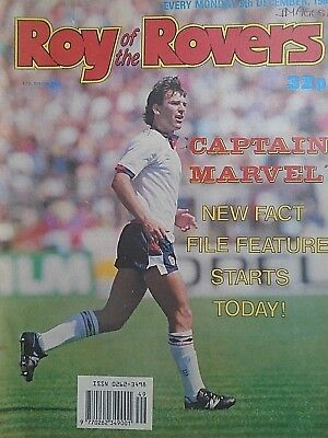 Roy of the Rovers 09/12/89 old football all usual storys + manchester united etc