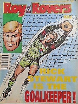 Roy of the Rovers 23/12/89 old football all usual storys england + pic free p&p