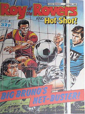 Roy of the Rovers 20/05/89 football all storys oldham player, middlesborough v