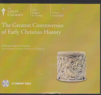 GREATEST CONTROVERSIES OF EARLY CHRISTIAN HISTORY by THE GREAT COURSES~12 CD'S