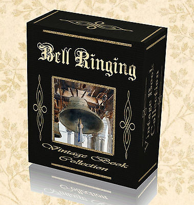 History of Bell Ringing - 75 Books on DVD - Campanology Carillon Bells Tuning 15