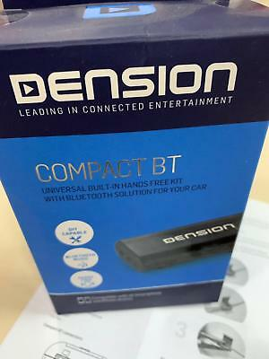 Dension Compact BT Bluetooth FM Transmitter FM Aux IN Nachrüstung Universal