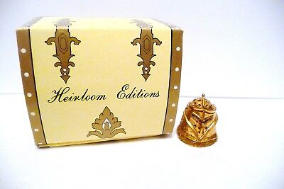 "Thimble Bronze Heirloom Editions The ""knight"" Iob  Htf"