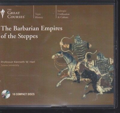THE BARBARIAN EMPIRES OF THE STEPPES by GREAT COURSES ~ UNABRIDGED CD AUDIOBOOK