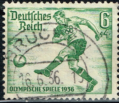 Germany Third Reich Berlin Summer Olympic Games stamp 1936 Soccer