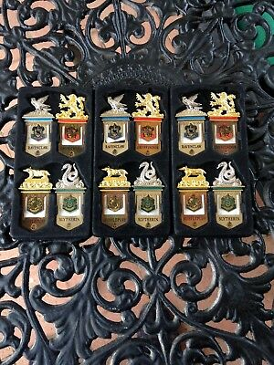 3 sets This authentic set of beautifully crafted Harry Potter Bookmarks