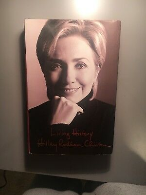 Living History by Hillary Rodham Clinton (2003, Hardcover) Book Autobiography