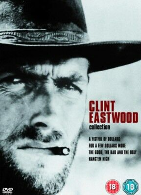 Clint Eastwood : Spaghetti Western Collection (4 Disc DVD Box Set) New / Sealed