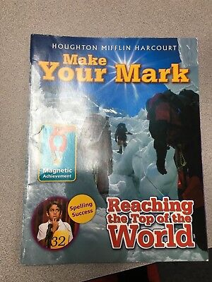 Harcourt Journeys Level 3 Make Your Mark Novel Unit Magazine Lot of 26