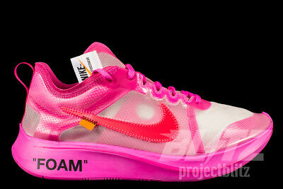 d2d7d481d17 THE 10   NIKE ZOOM FLY OFF-WHITE Sz 4-13 TULIP PINK RACER PINK ...