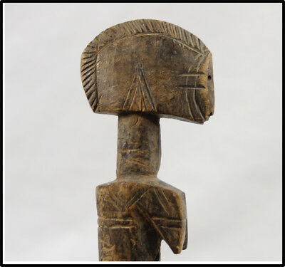 Vintage NICE Mossi doll figure statue old African Burkina Faso LOOK